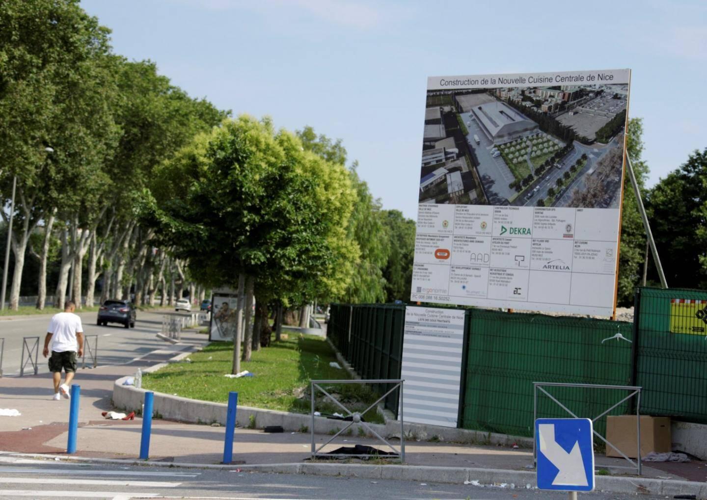 Le chantier de la nouvelle cuisine centrale de Nice est le plus important engagé pendant le second mandat de Christian Estrosi.