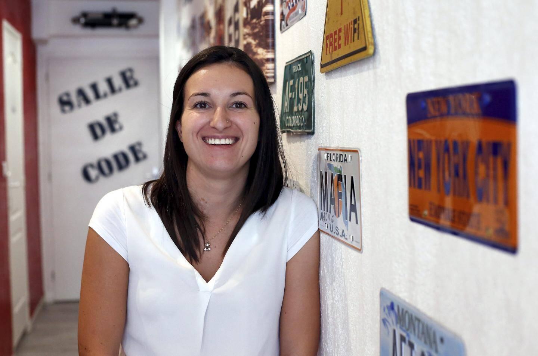 Âgée de 26 ans, Laetitia Tarantola a créé l'auto-école « Azur Drive » dans le Borrigo avec Jimmy Sevestre.