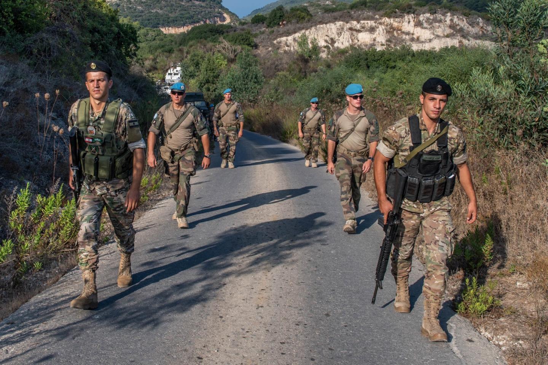 Les patrouilles dans le Sud Libanse font toujours conjointement entre les casques bleus et les Forces armées libanaises.