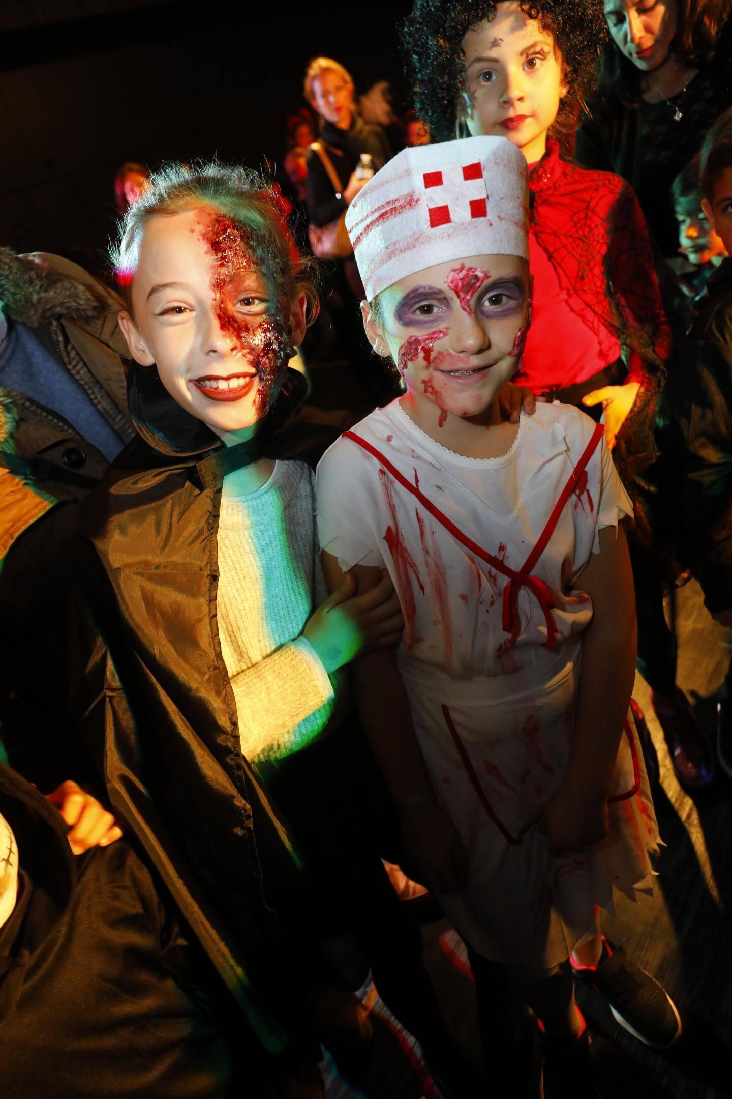 Fête d'Halloween à Mougins.