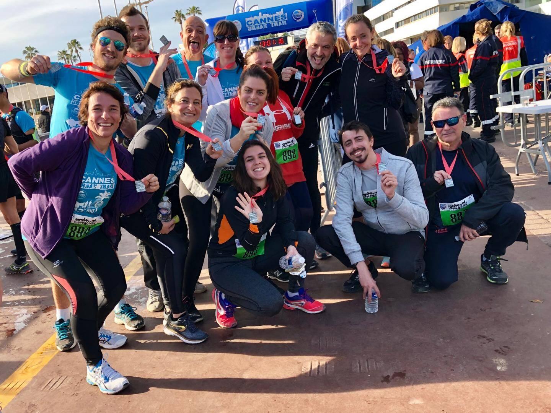 L'équipe de Nice-Matin a relevé le défi du 9 km