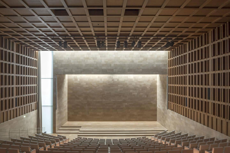 L'auditoriumde l'Institut de France, inauguré le 11 février dernier à Paris.