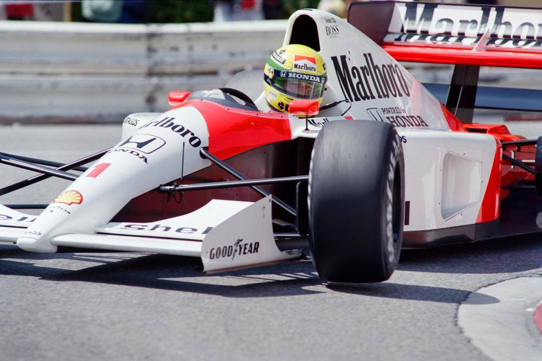 En 1991, Ayrton Senna (McLaren-Honda) finira devant Nigel Mansell (Williams-Renault) et Jean Alesi (Ferrari).