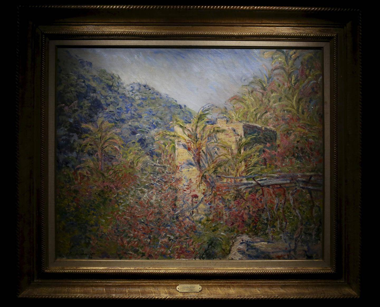 Le lieu où Monet s'est exercé se situe non loin de la villa Regina Margherita.
