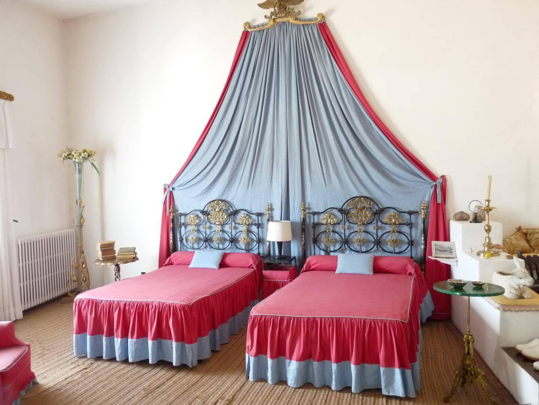 L'unique chambre à coucher de la maison de Portlligat, celle de Salvador et Gala.