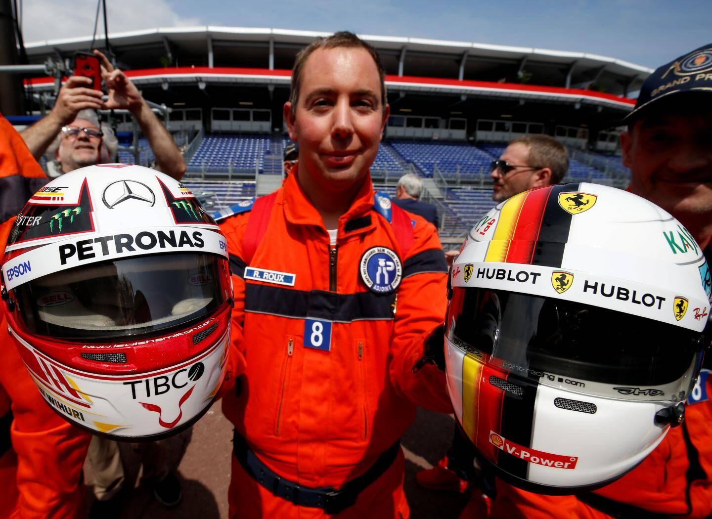 Romain est fan de Hamilton, son père de Vettel.