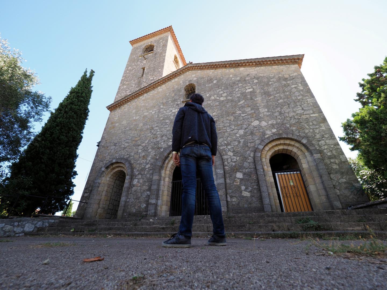 L'église Sainte-Jeanne d'Arc fermée depuis 2010.