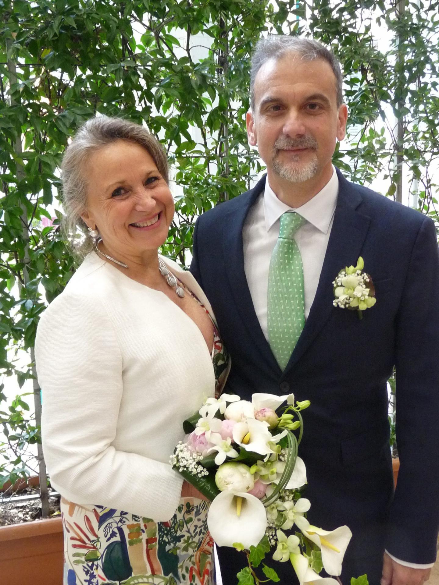 Laura Canepa, décoratrice d'intérieur, et Paolo Bandini, architecte.