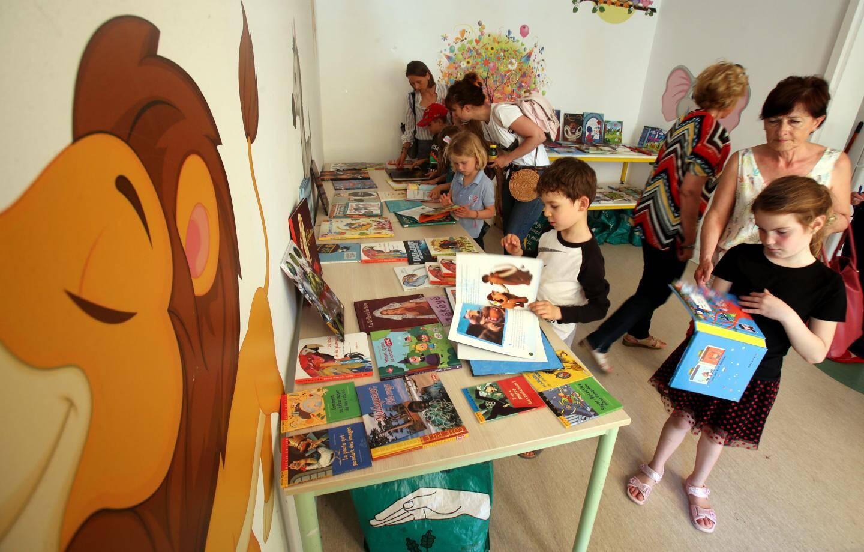 Chaque enfant a pu repartir de la Fête de la lecture avec un livre de son choix.