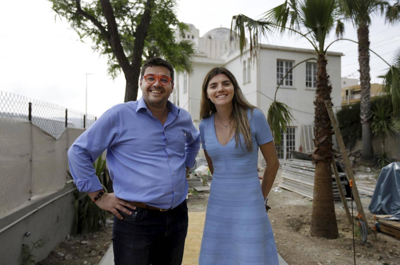 Laurent Schenk, et Catherine Saint-John sont les responsables de la Villa Djunah