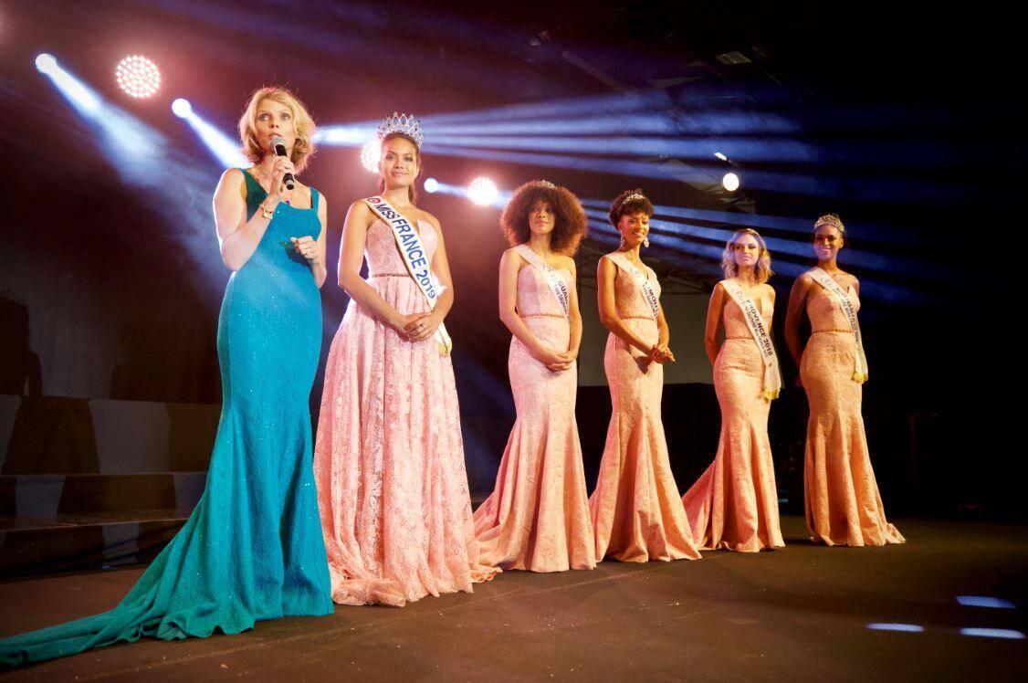 Sylvie Tellier avec Miss France
