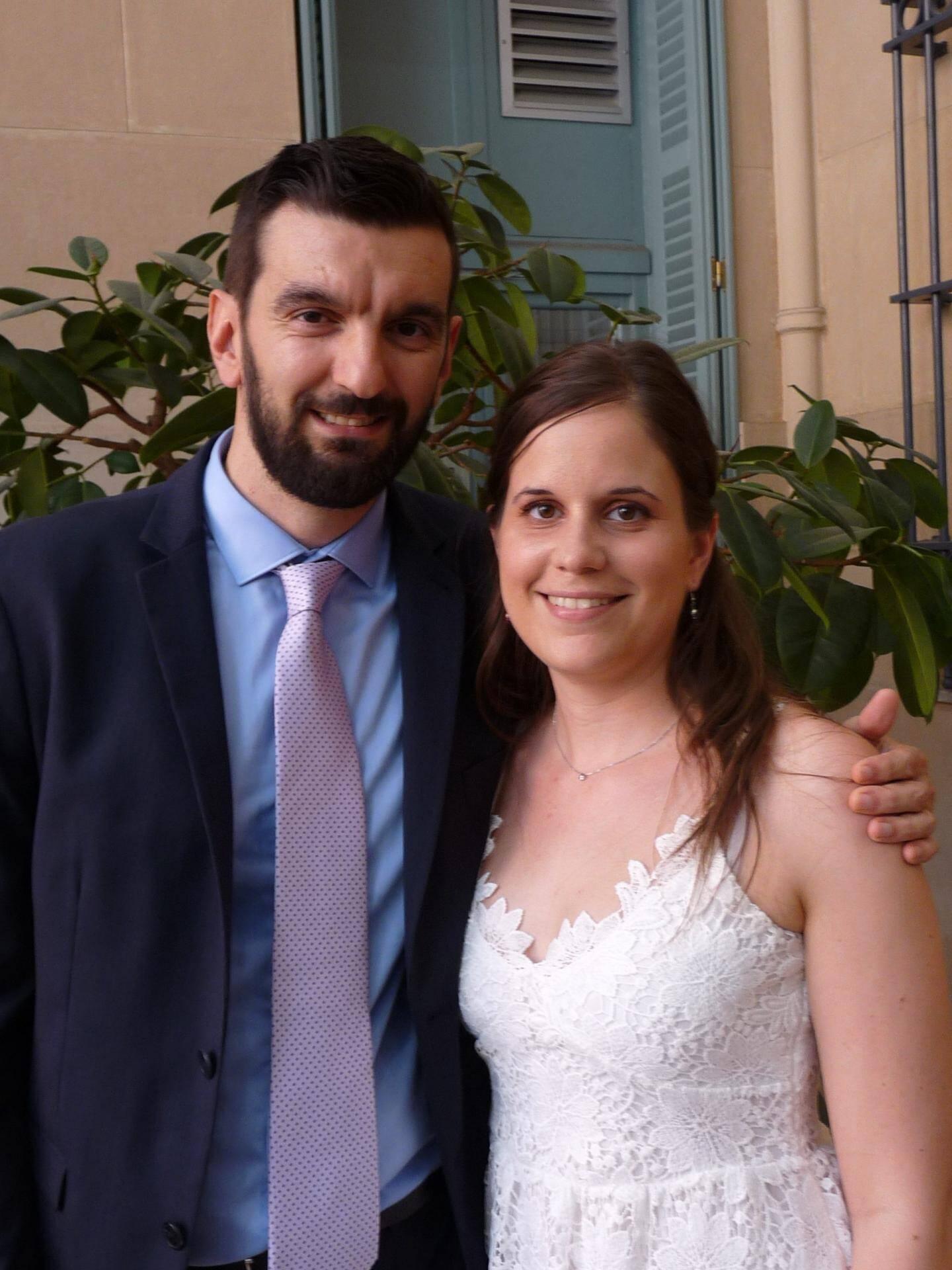 Julien Tribino, informaticien, et Stéphanie Telo, médecin.