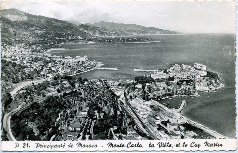 Sur cette vue ancienne, on se rend compte de l'emplacement du rivage.