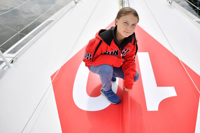 La militante écologiste de 15 ans, Greta Thunberg.