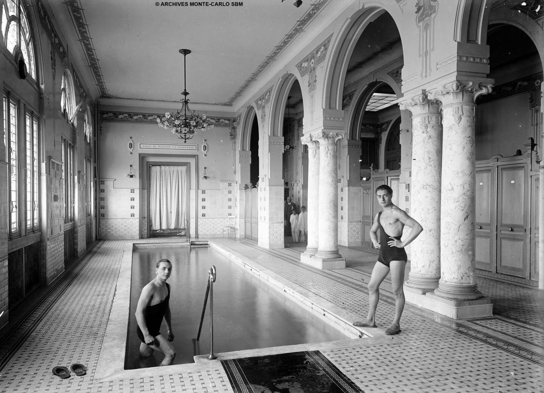 Les bains sont appréciés par les hommes également.
