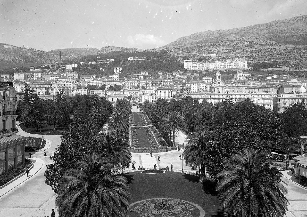 1910 : les « bowling green », à leur apogée, sont au cœur de Monte-Carlo.