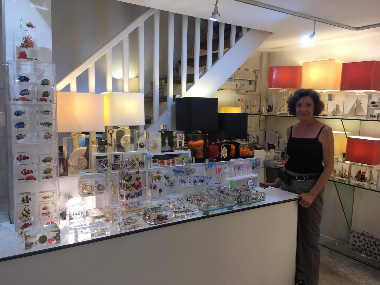 Danielle Wintrebert gère le magasin Transparence.