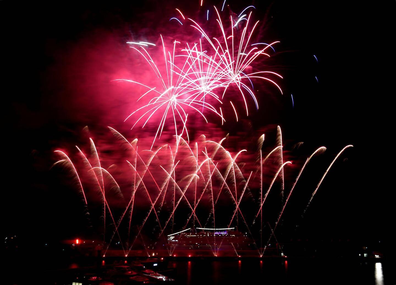 Entre juillet et août, Monaco Art en Ciel a plongé les nuits monégasques dans la féerie des feux d'artifice.