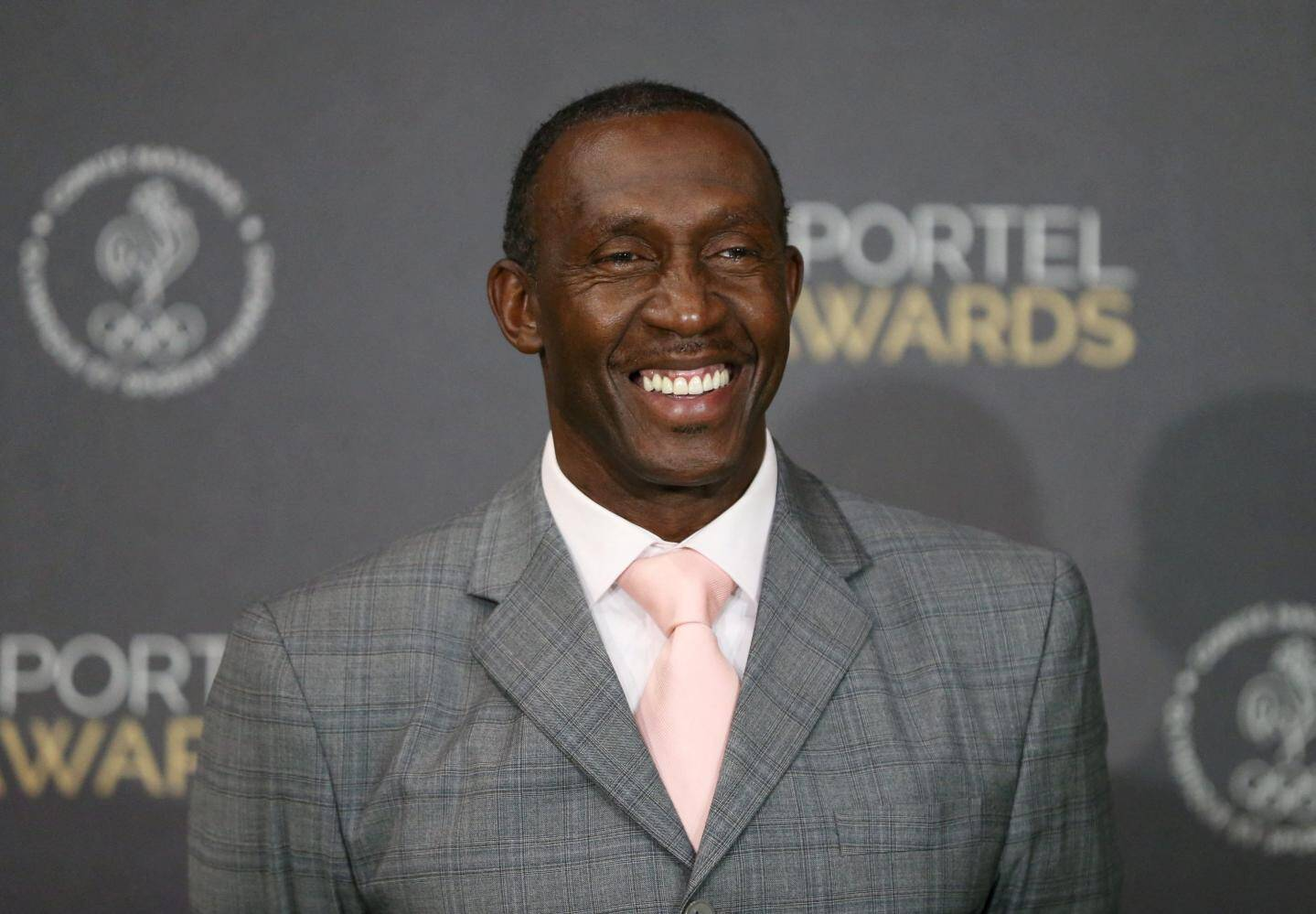 Linford Christie, champion olympique du 100 m en 1992.