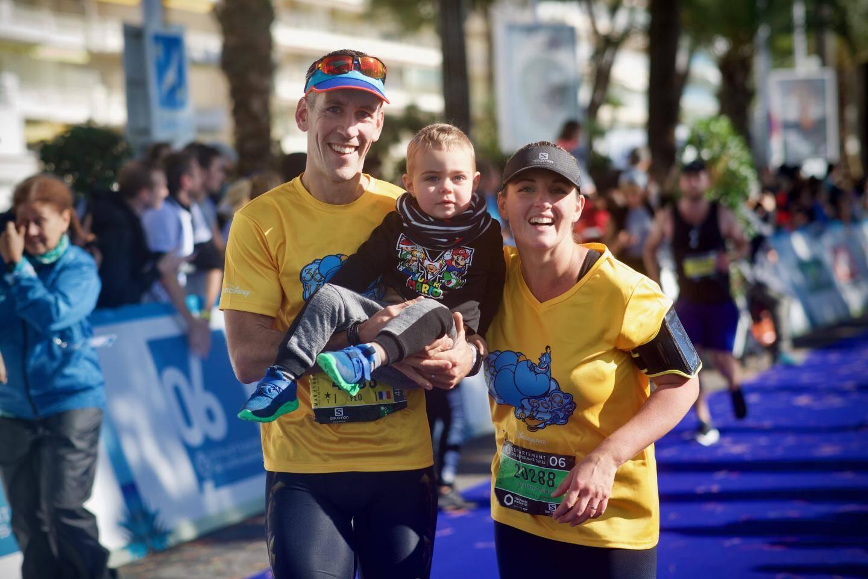 La grande famille du marathon.