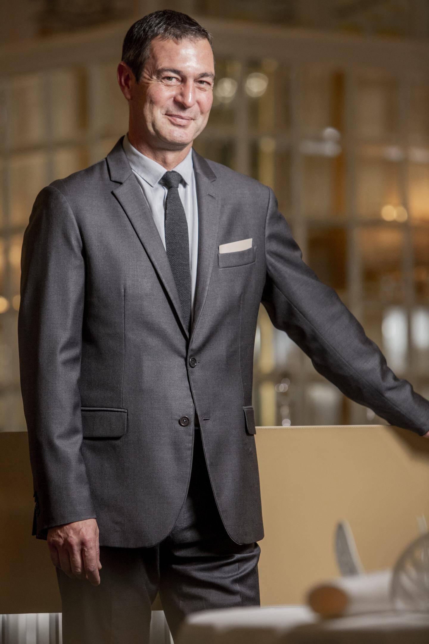 Michel Lang, directeur des restaurants.