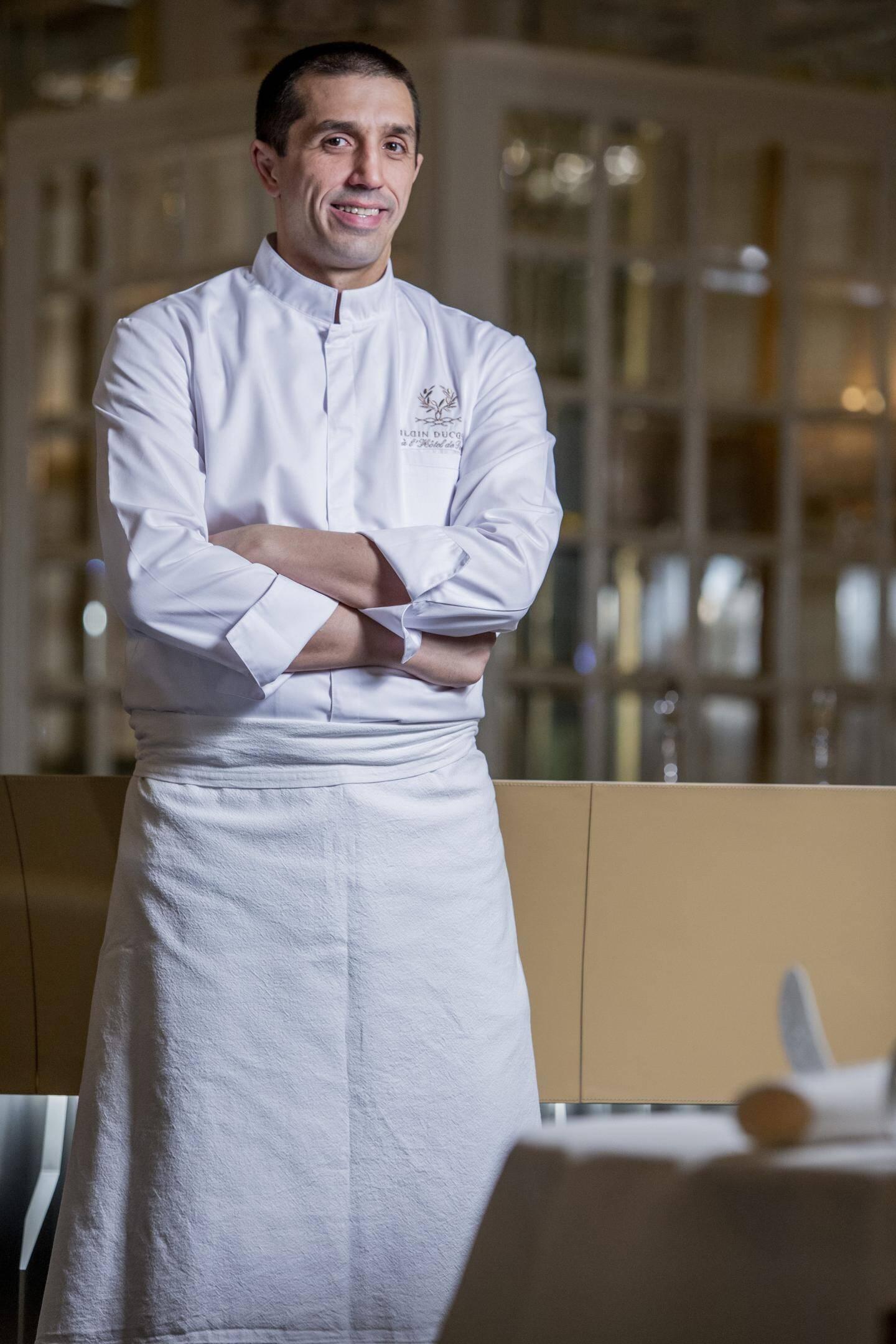 Sandro Micheli, chef pâtissier.