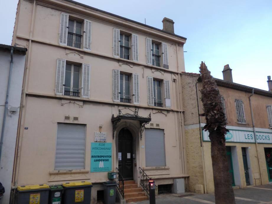 L'ancienne école de musique abritera des logements.