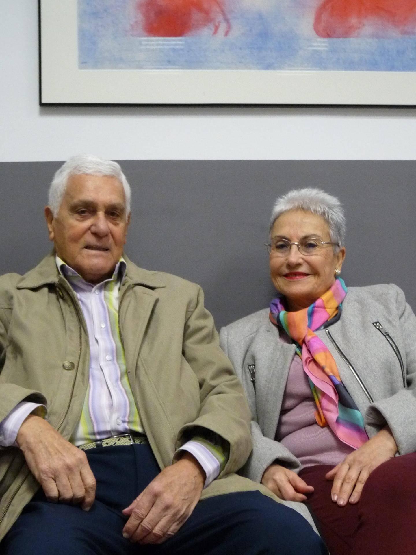 André Tzutzuiano et Céline Ortega, retraités.
