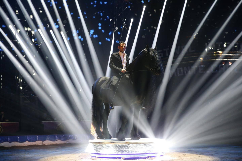 5e: Les chevaux frisons de Maycol Errani.