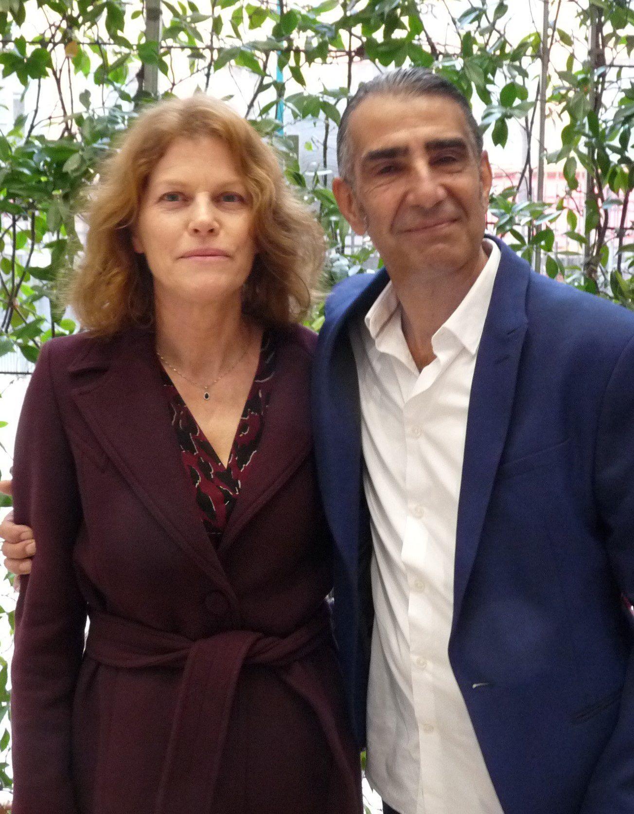 Ghislaine et Hossein.