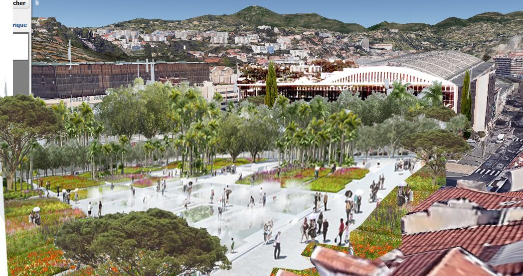 La future esplanade De-Lattre-de-Tassigny?