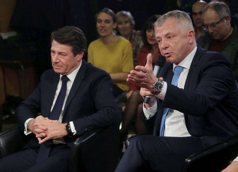 Christian Estrosi et Benoît Kandel
