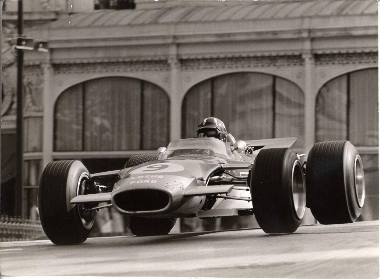 Graham Hill en 1968.