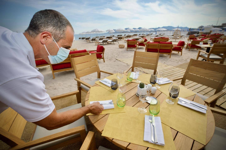 Le restaurant de la plage Mademoiselle Gray