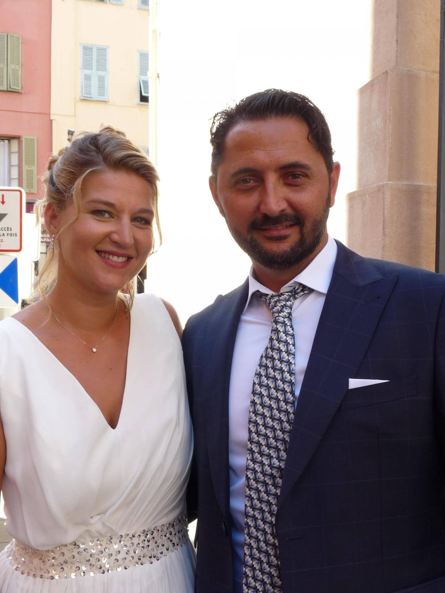 Mélissa Zajac et Julien Schmitt, administrateurs de biens.