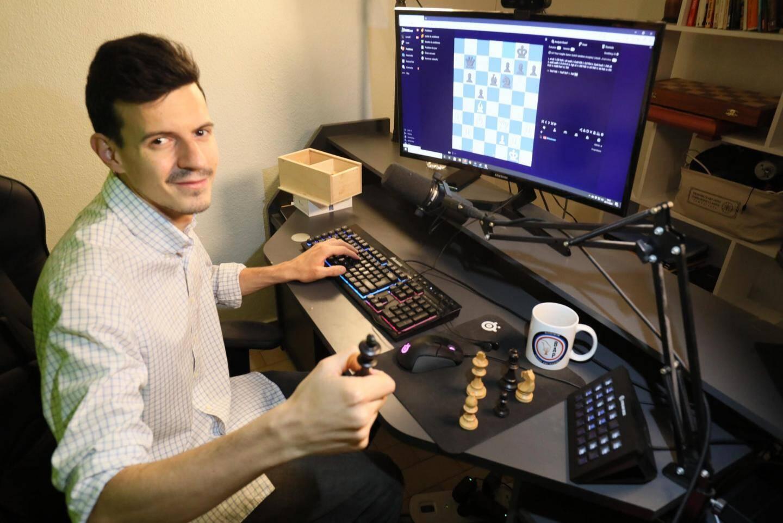 Le streamer cannois Kévin Bordi démocratise les échecs sur Twitch et YouTube
