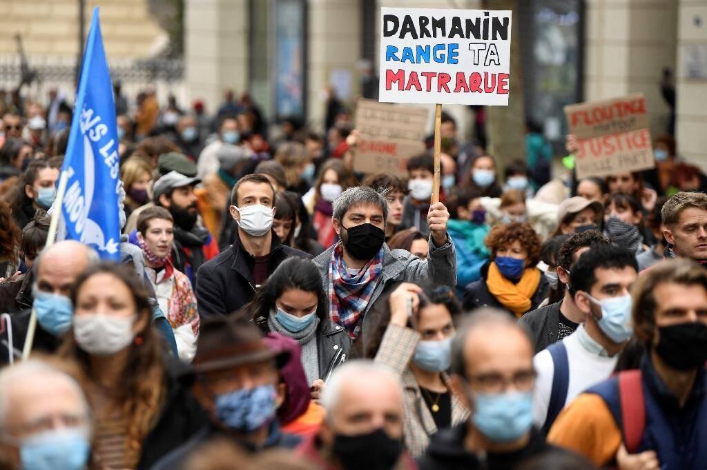 Manifestation contre la proposition de loi sécurité globale, le 28 novembre 2020 à Marseille