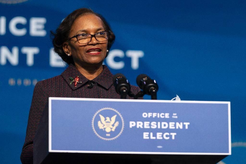 Brenda Mallory, choisie par le président Joe Biden pour diriger le Conseil sur la qualité environnementale, le 19 décembre 2020 à Wilmington, dans le Delaware