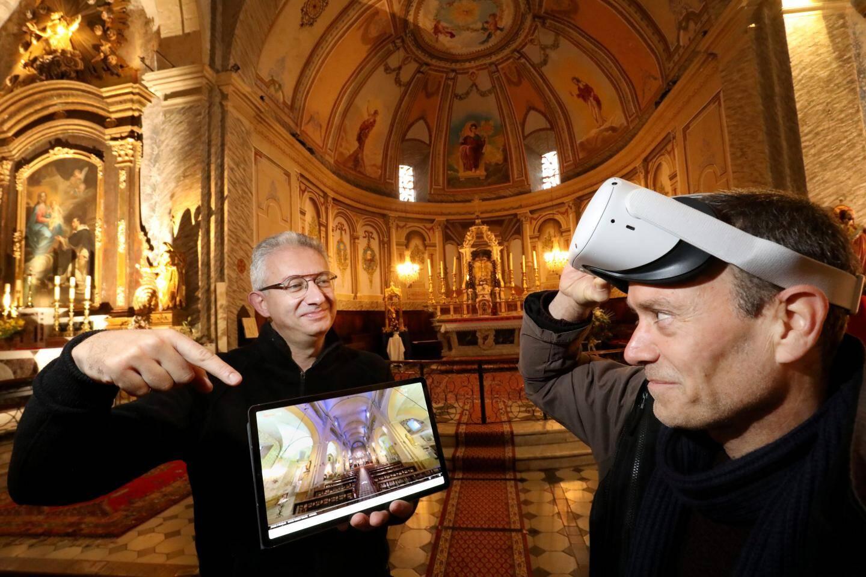Philippe Schneider et Christian Bascio, deux amis d'enfance se sont pris de passion pour la 3D et ont décidé de la mettre au profit du patrimoine fayençois.