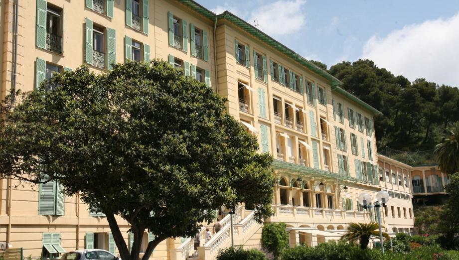 Gorbio, un bâtiment exceptionnel à relancer. Avant de n'être plus consacré qu'à la maison de retraite où cent lits d'établissement d'hébergement pour personnes âgées dépendantes sont espérés.