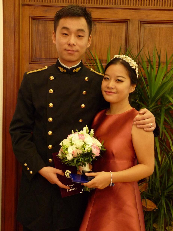 Jinpo Hong et Xian Yi, tous deux étudiants.