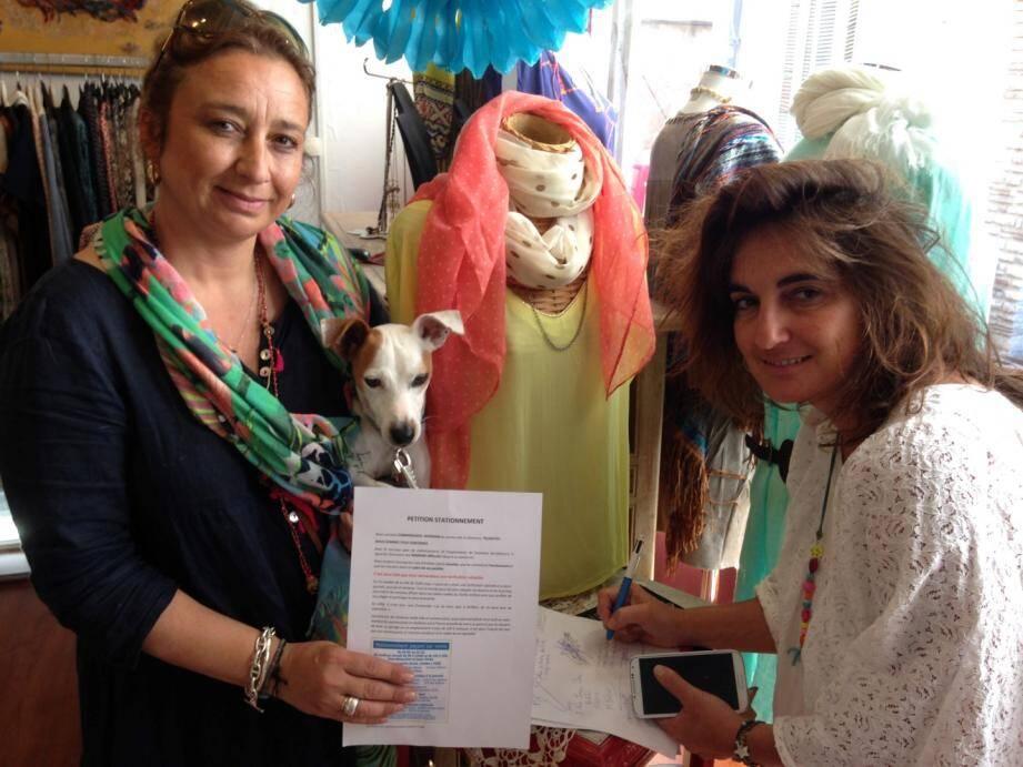 Une pétition dans la vieille ville lancée par Catherine Bourbon, commerçante dans la rue Fersen