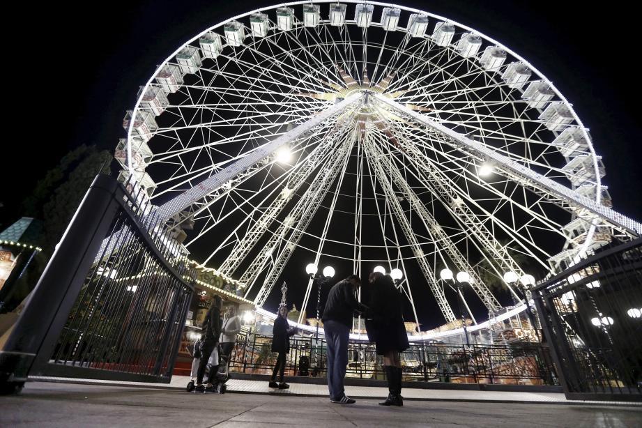 La grande roue pour tutoyer les étoiles.