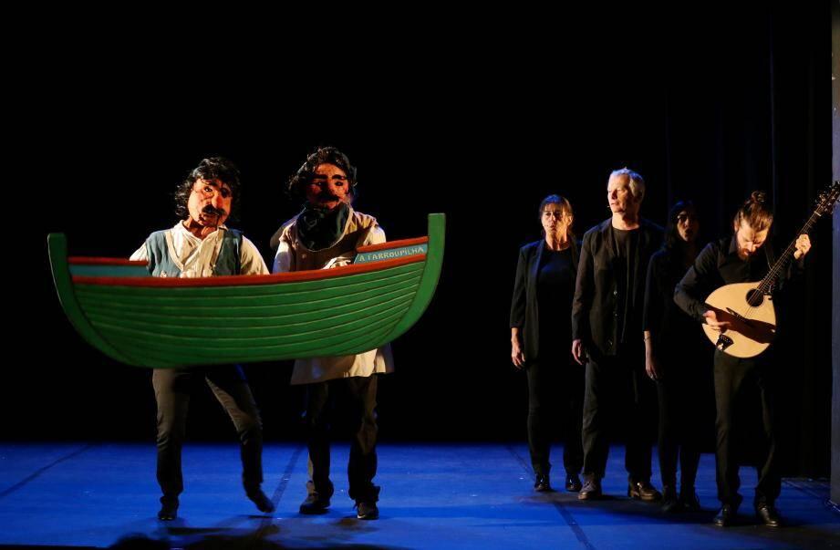 """""""Garibaldi, connais pas!"""", un spectacle créé en résidence au théâtre Francis Gag."""