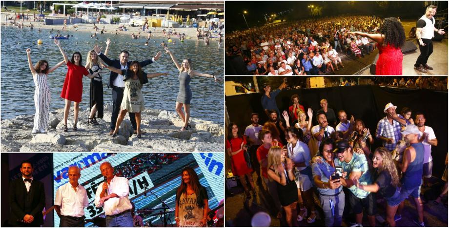 Le spectacle estival du Groupe Nice-matin a fait escale mardi soir à Toulon pour le grand final.