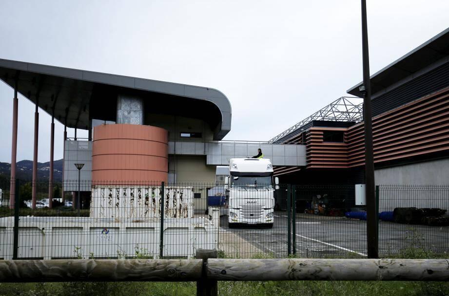 L'usine de traitement des déchets du SMED.