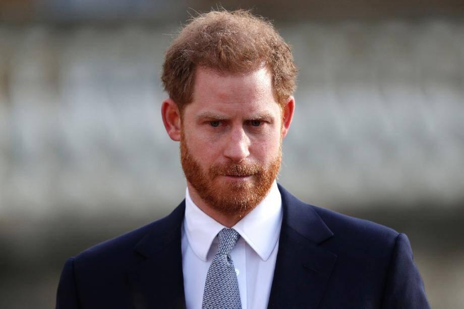 Le prince Harry, le 16 janvier 2020 à Londres.