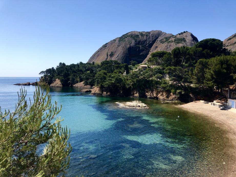Le parc de Miguel et sa plage.