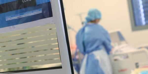 Une unité covid à l'hôpital (illustration).