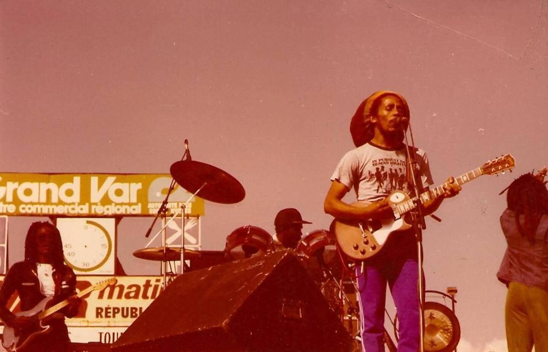 Bob Marley à Toulon le 1980